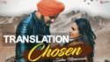 sidhu moose wala chosen song lyrics translation