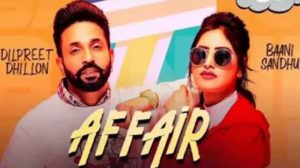 Affair Lyrics – Baani Sandhu Ft. Dilpreet Dhillon