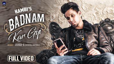 Badnam Kar Gayi song lyrics Kambi