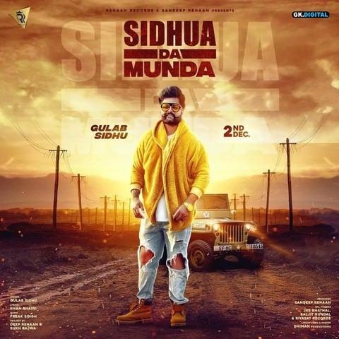 Gulab Sidhu gaddiyan ch vajde gaane song lyrics