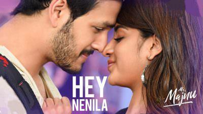 Mr. Majnu - Hey Nenila Telugu lyrics
