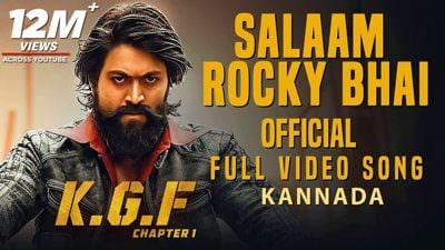 Salaam Rocky Bhai Full Video Song KGF Kannada