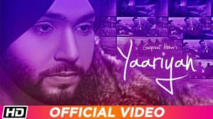 Yaariyan Lyrics – Gurpreet Hehar | Gurnaz | Mr. VGrooves