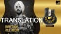 diljit dosanjh jimmy choo lyrics meaning