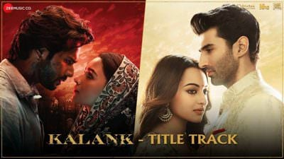 kalank title song poster