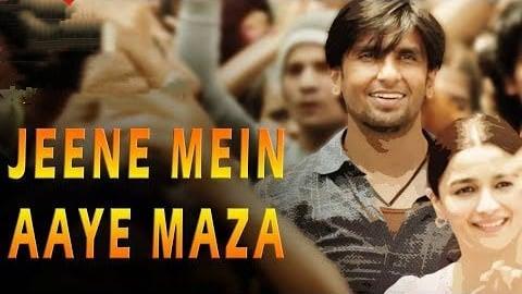 Jeene Mein Aaye Maza gully boy