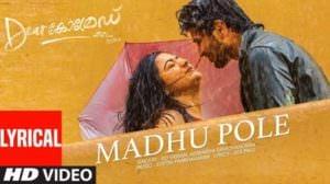 Madhu Pole Lyrics – Dear Comrade Malayalam Songs