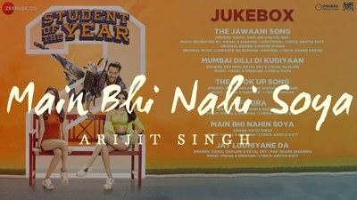 Main Bhi Nahi Soya Student of the Year 2
