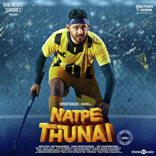 Natpe Thunai songs lyrics translation by Hiphop Tamizha