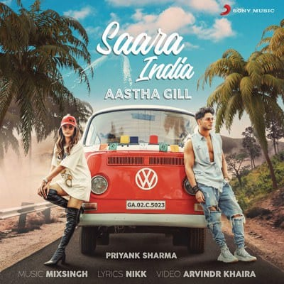 Saara India lyrics meaning Aastha Gill