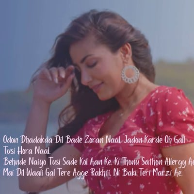 Teri Marzi Aa lyrics Prabh Gill new song