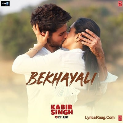 bekhayali lyrics in hindi kabir singh