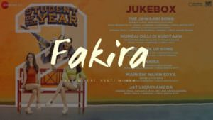 fakira song student of the year