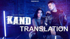 new Kand lyrics Mickey Singh Dana Alexa