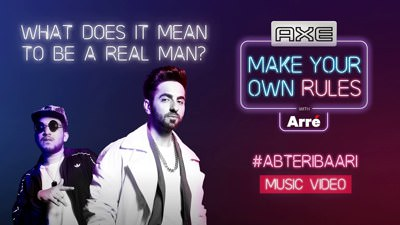 Ab Teri Baari Lyrics Feat. Ayushmann Khurrana Naezy Axe Ad. Song