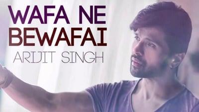 Ab Toh Gairon Se Mera Haal Lyrics Arijit Singh Wafa Ne Bewafayi
