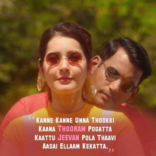Kanne Kanne lyrics translation Ayogya by Anirudh Ravichander