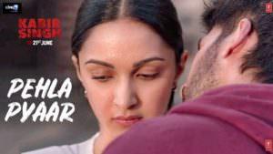 Pehla Pyaar Kabir Singh song poster