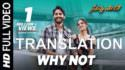 Why Not Full Song - Savyasachi
