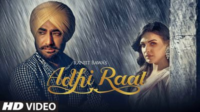 adhi raat song lyrics ranjit bawa