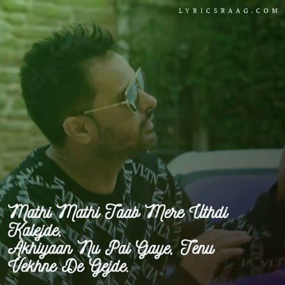 amrinder gill mathi mathi song lyrics punjabi