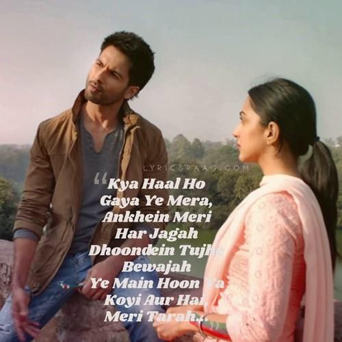 kya hua hindi song lyrics kabir singh film