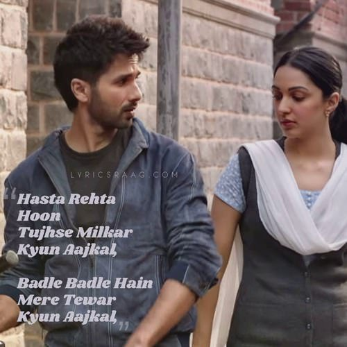 track kaise hua lyrics translation kabir singh
