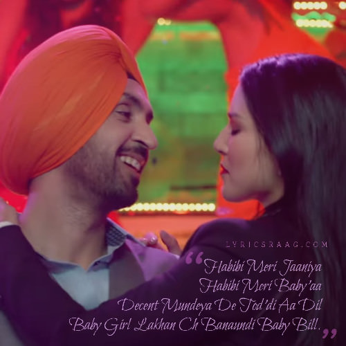Crazy Habibi Vs Decent Munda lyrics translation Arjun Patiala