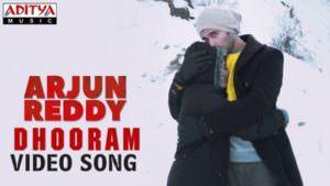 Dhooram Song lyrics meaning Arjun Reddy