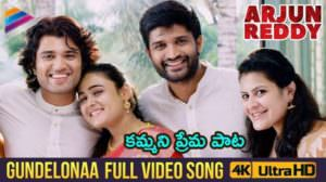 Gundelonaa  Lyrics Meaning | Arjun Reddy | Sowjanya