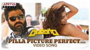 Pilla Picture Perfect Lyrics – Ranarangam | Nikhita Gandhi