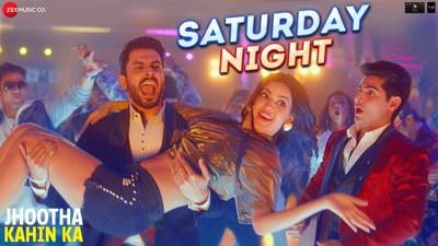 Saturday Night Lyrics - Hindi Song | (From