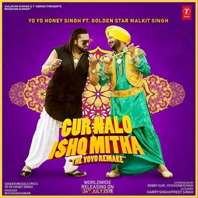 Yo Yo Honey Singh Gur Nalo Ishq Mitha (The YOYO Remake) Malkit Singh lyrics