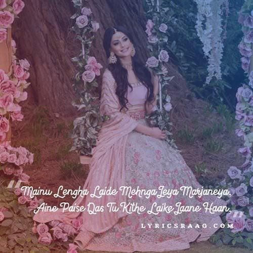 lehenga punjabi song quotes jass manak lyrics