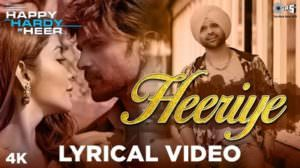 Heeriye Lyrics | Translation | Happy Hardy And Heer | Arijit Singh