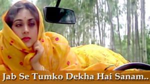 Jab Se Tumhen Dekha Lyrics Translation | Damini | by Kumar Sanu