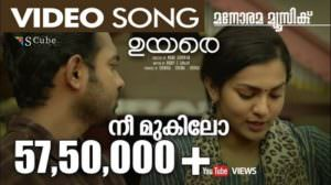 Nee Mukilo Song Lyrics | Translation| Uyare | Malayalam Song