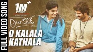 O Kalala Kathala Lyrics Translation | Dear Comrade (Telugu)