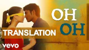 Thangamagan - Oh Oh track meaning