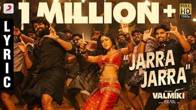 Valmiki - Jarra Jarra Telugu Lyrics