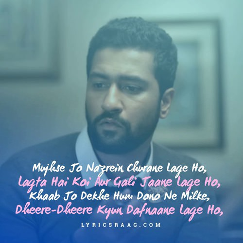 pachtage arijit jaani vicky hindi lyrics