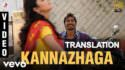 3 - Kannazhaga translation Dhanush, Shruti
