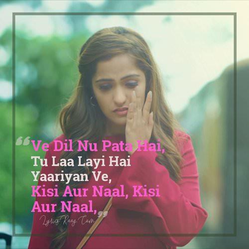 Asees Kaur Kisi Aur Naal quotes lyrics