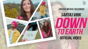 Jatti Down To Earth Song Lyrics – Sartaj Virk | Punjabi Song