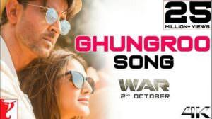 Ghungroo Song Lyrics | Translation | War | Hrithik Roshan | Vaani Kapoor