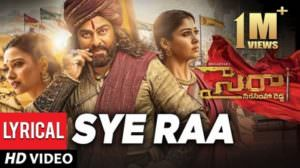 "Sye Raa Song Lyrics – (From ""Syeraa Narasimha Reddy"") 