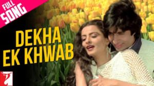 Dekha Ek Khwaab Lyrics Translation | Duet Version | Silsila Film