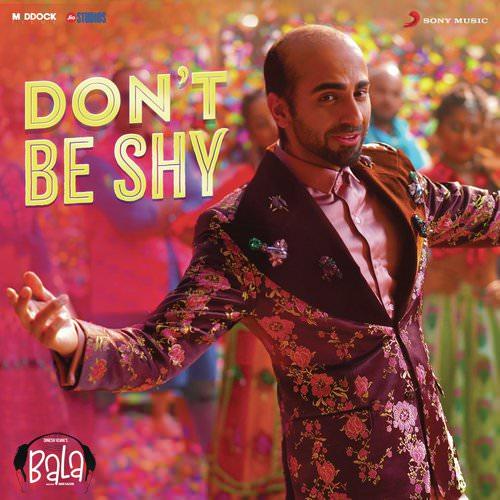 Don't Be Shy translation (From Bala) lyrics