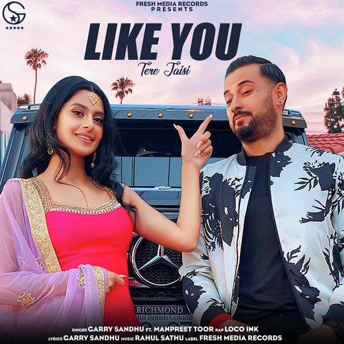 Like You (Tere Jaisi) by Garry Sandhu featuring Manpreet Toor lyrics