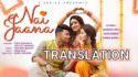 Nai Jaana Tulsi Kumar, Sachet Tandon lyrics